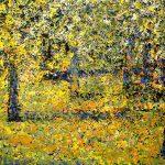 """Bagna nad Bugiem"" format 130x180 cm. olej na pł, 2012 r."